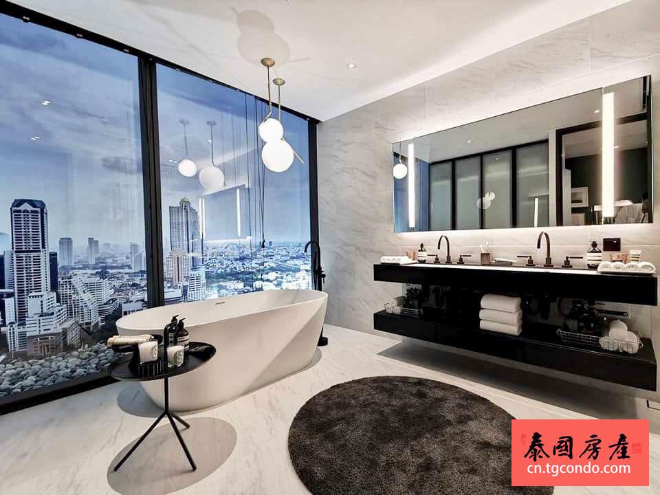 曼谷沙吞Tait 12公寓样板间实拍
