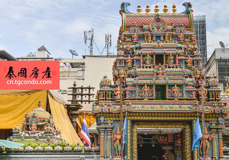 曼谷是隆沙吞 印度神庙