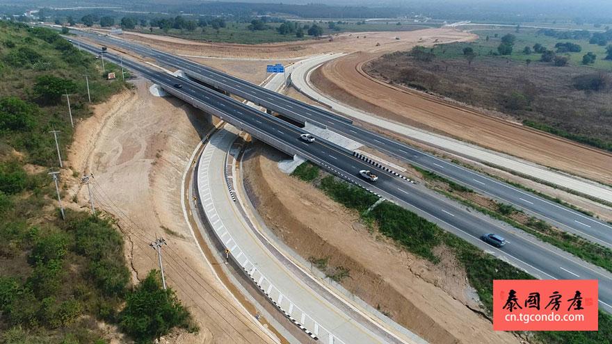 泰国芭堤雅乌达抛机场高速公路