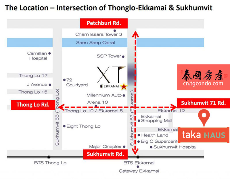 XT Ekkamai sansiri location