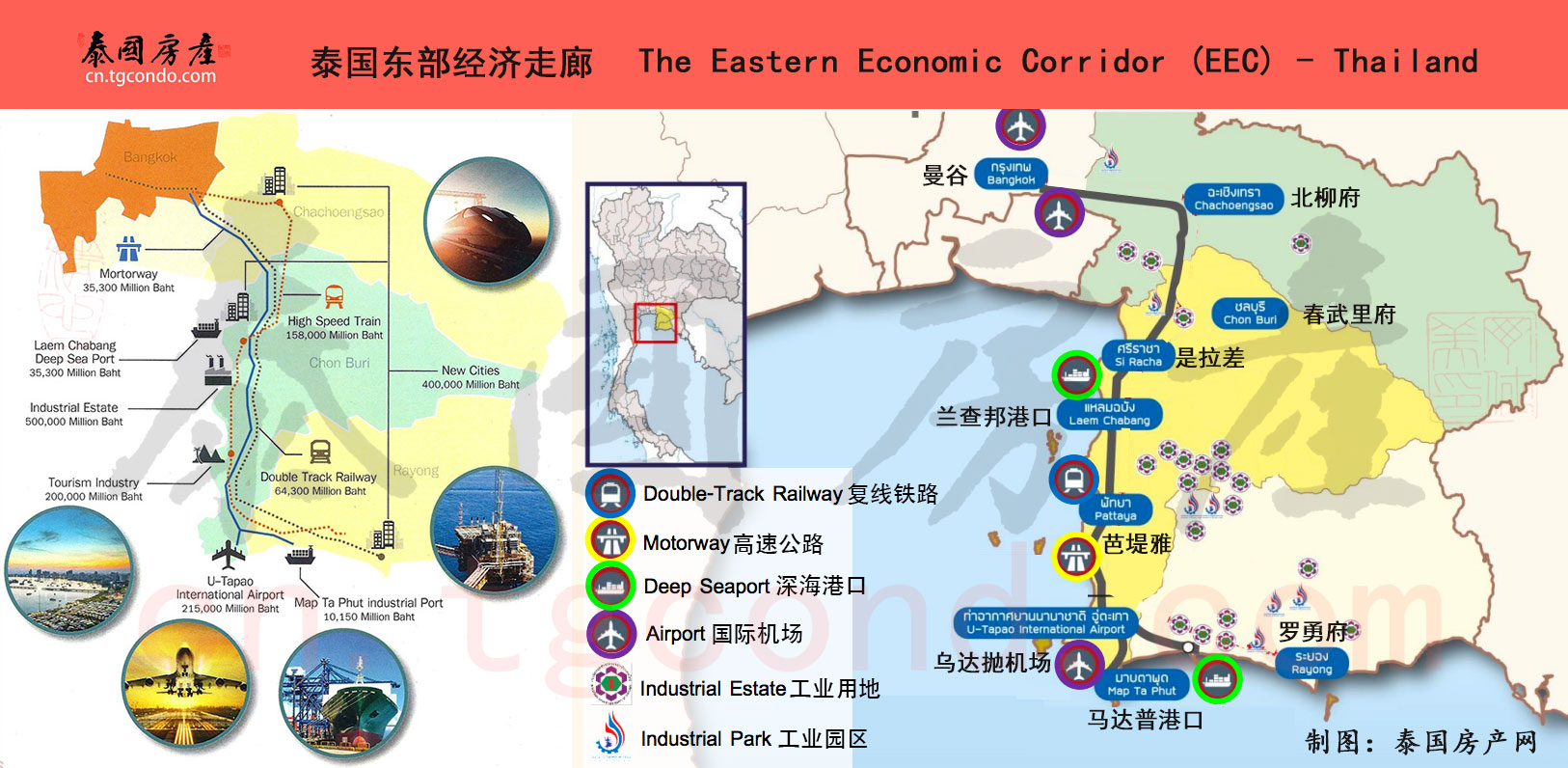 泰国东部经济走廊 Eastern Economic Corridor EEC Thailand