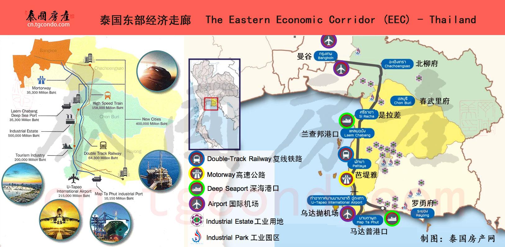 泰国东部经济走廊 EEC 发展规划