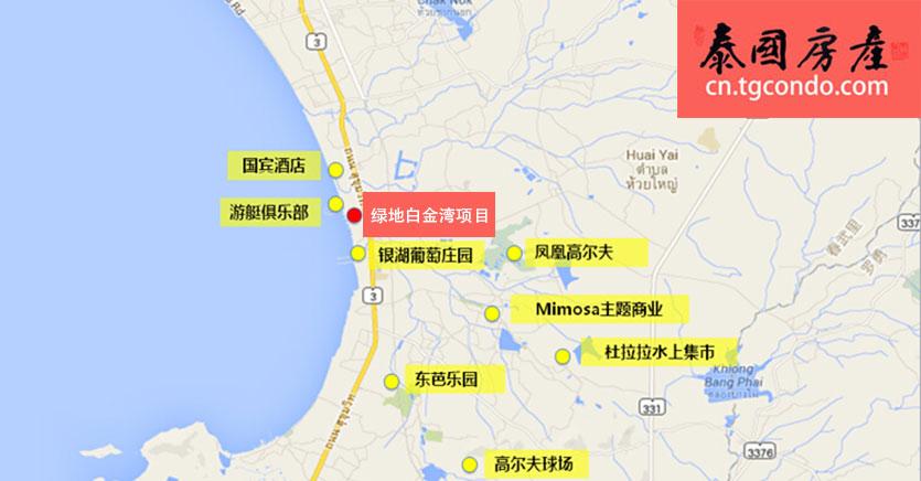 绿地集团泰国芭提雅打造全球滨海度假中心