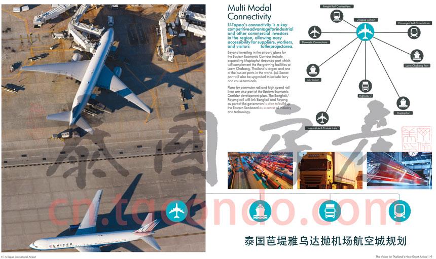 泰国芭堤雅国际机场是EEC特区重点工程之一 Pattaya U-Tapao Airport