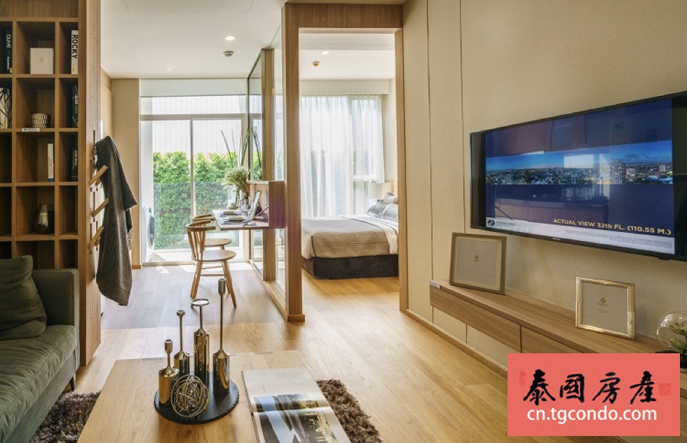 曼谷素坤逸路亿甲迈Ekkamai站轻轨期房公寓项目Siamese Exclusive 42