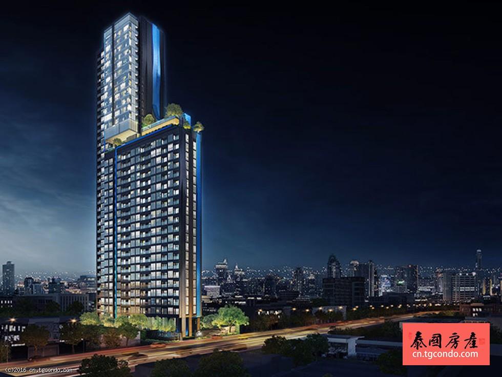 泰国上思睿The LINE Asoke曼谷超级塔做邻居