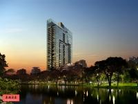 泰国曼谷豪宅: 轻轨站2房楼盘185 Rajadamri