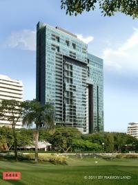 泰国曼谷名宅185 Rajadamri,轻轨BTS站大三房