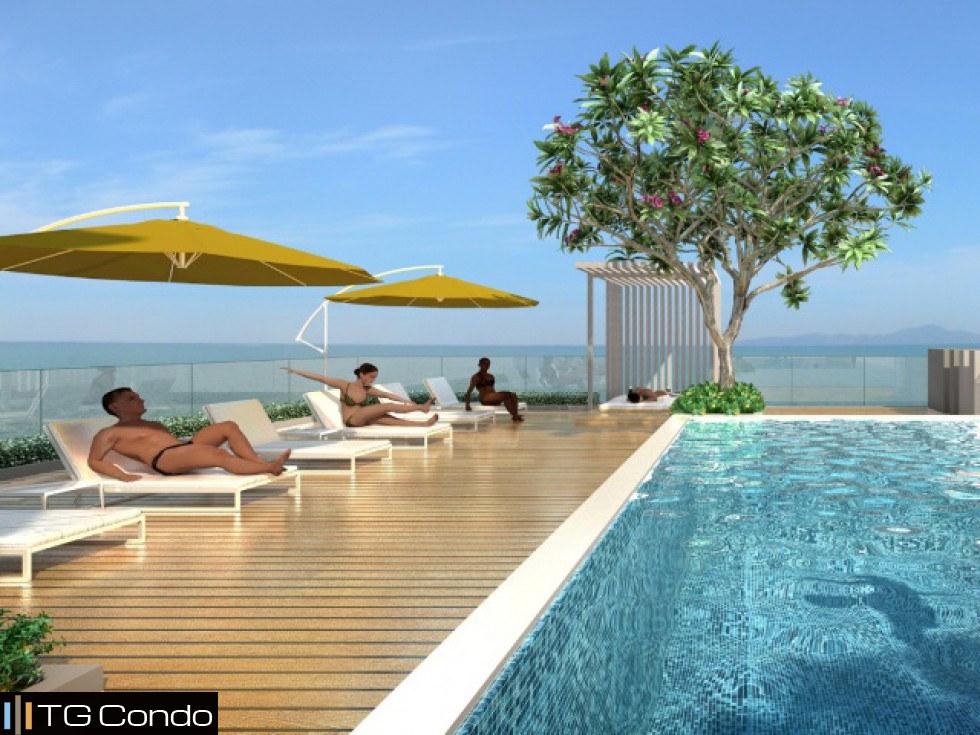 泰国芭提雅公寓1卧海景 NEO