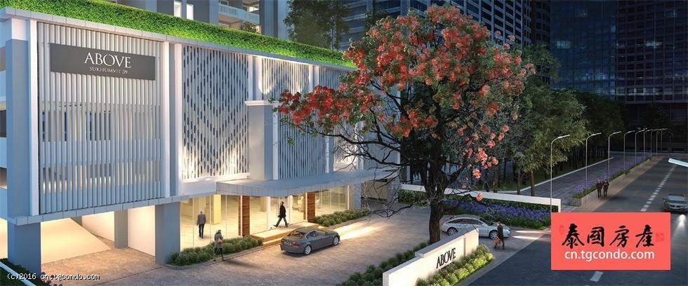 泰国曼谷私人豪宅ABOVE Sukhumvit 39