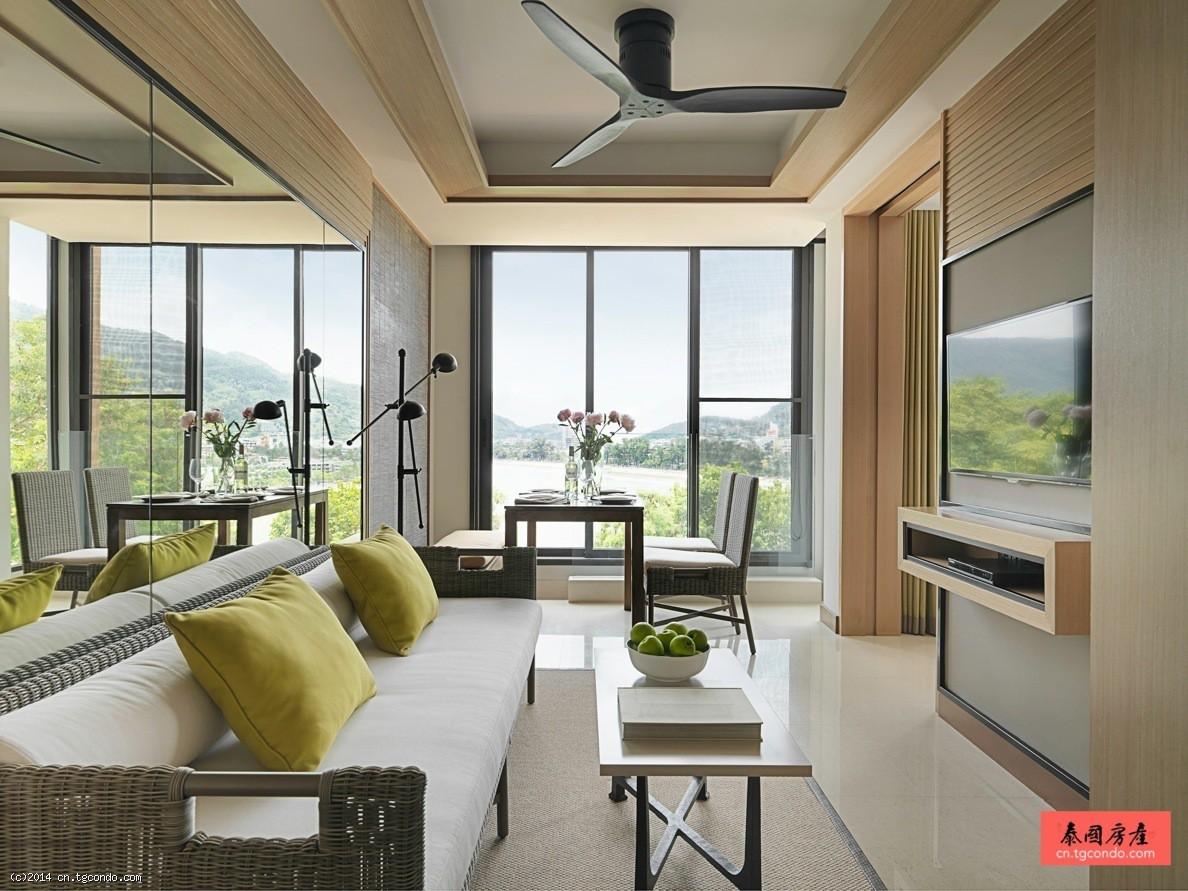 泰国普吉岛阿玛瑞2卧酒店公寓 Amari Residences
