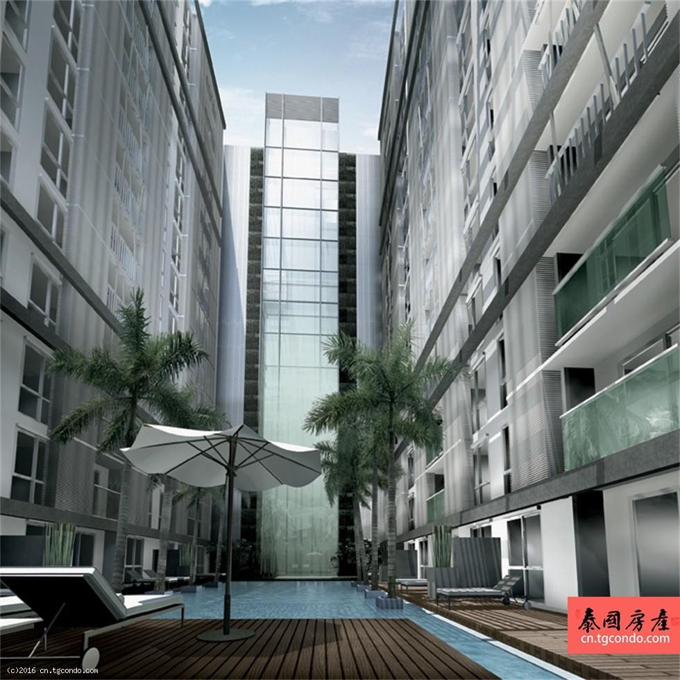 曼谷拉马九区黄金地段Apace Hideaway Asoke-Ratchada公寓转售