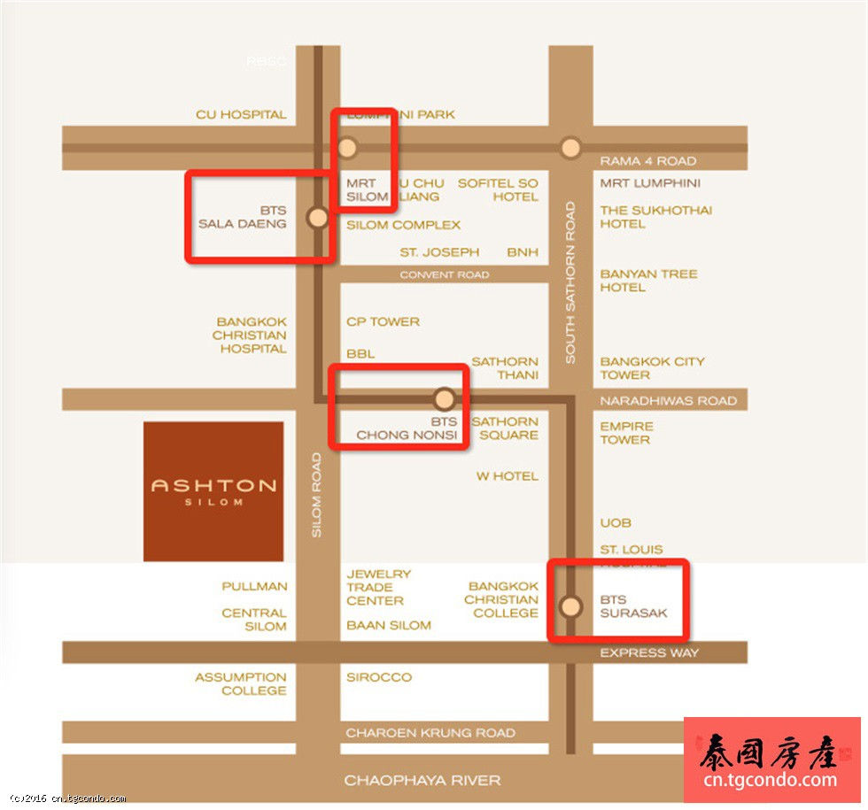 Ashton Silom泰国曼谷金融圈奢华超豪住宅