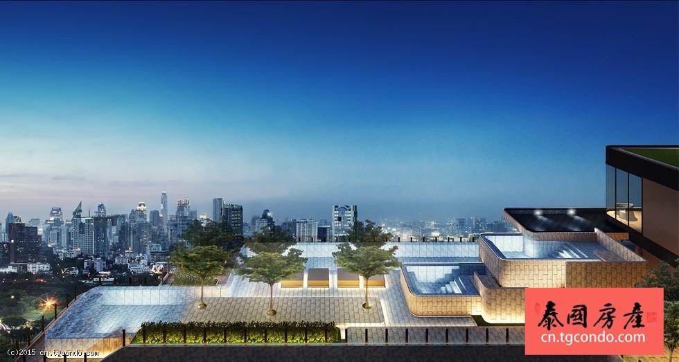 泰国曼谷是隆区顶级投资楼盘Ashton Chula Silom