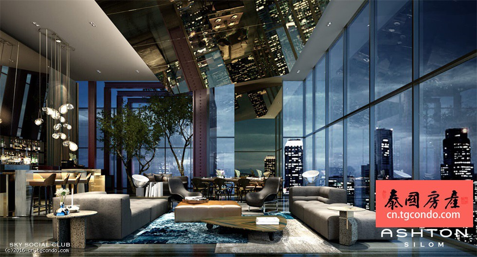 Ashton Silom 泰国曼谷是隆路顶级奢华两房公寓