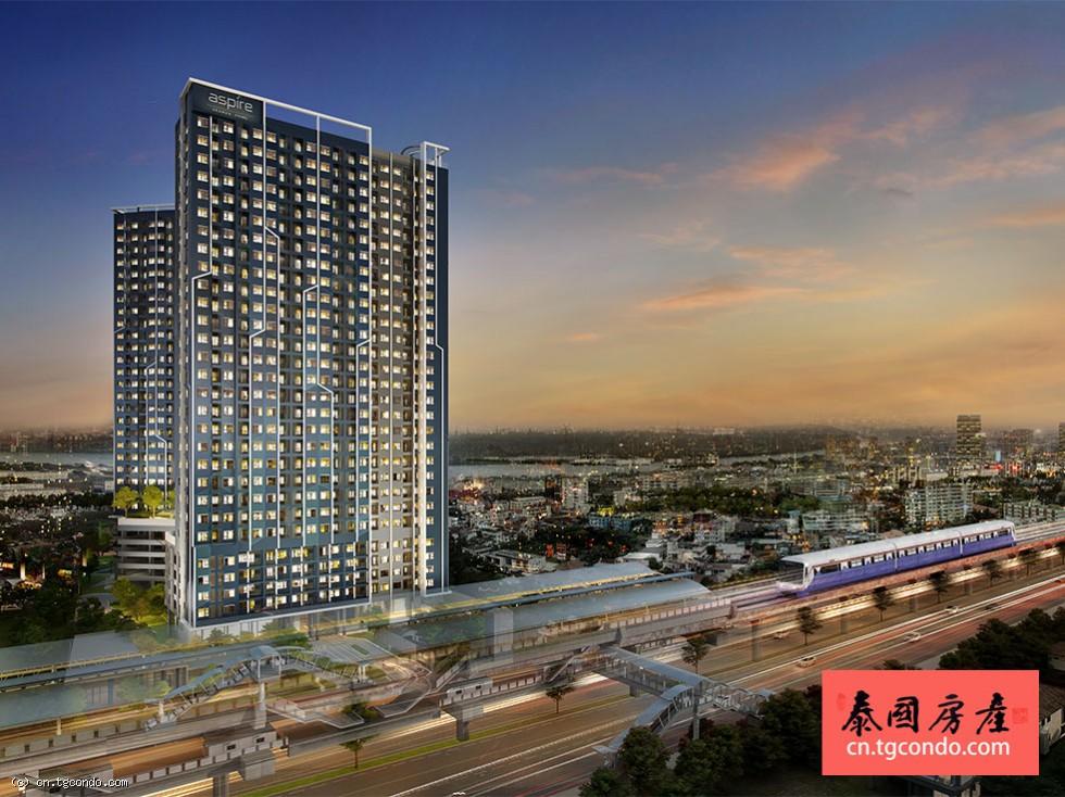 泰国曼谷轻轨站口最新期房Aspire Erawan Prime
