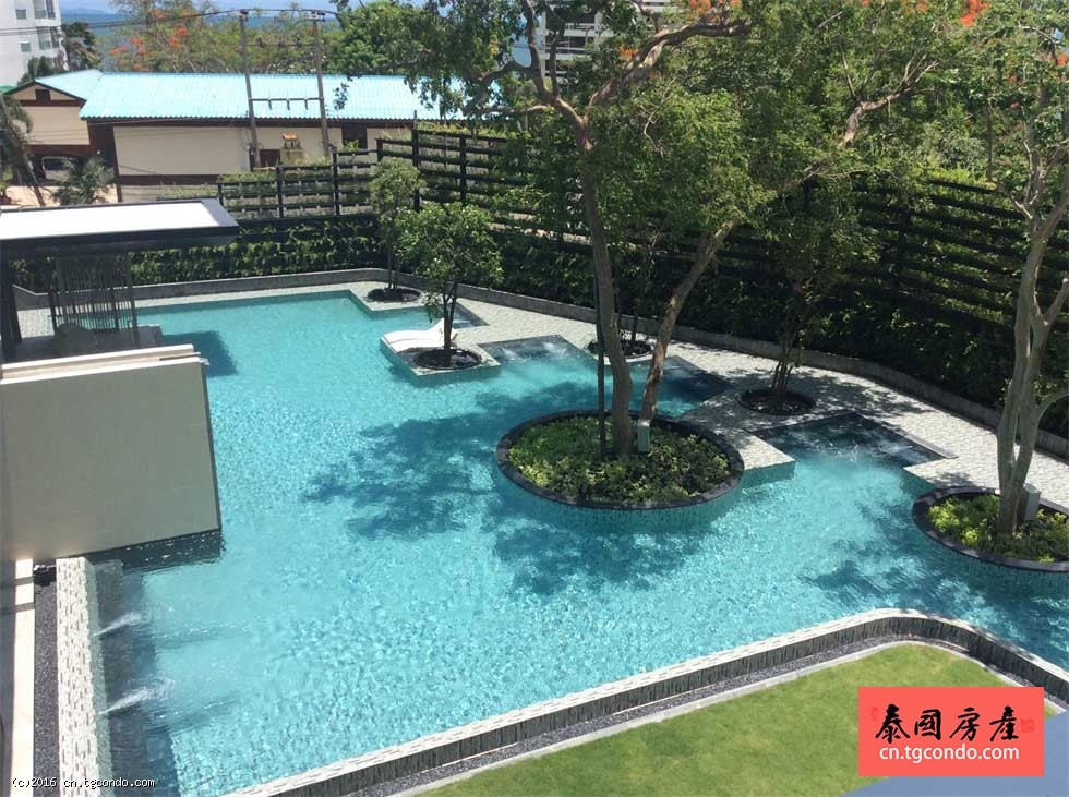 芭提雅一线海景Baan Plai Haad,全配套两房大户型出租!