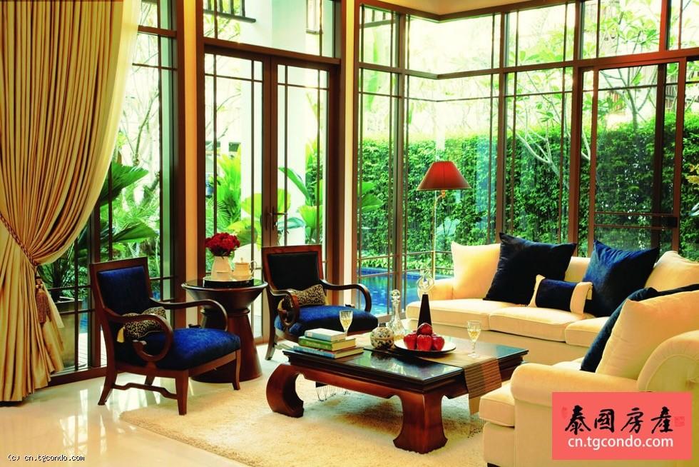 泰国曼谷沙吞区豪华私人泳池别墅出租