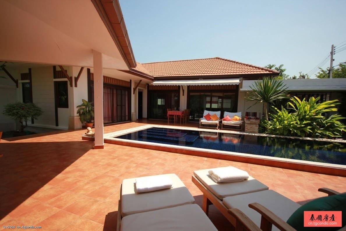 泰国华欣别墅+私家泳池 Busaba Pool Villas