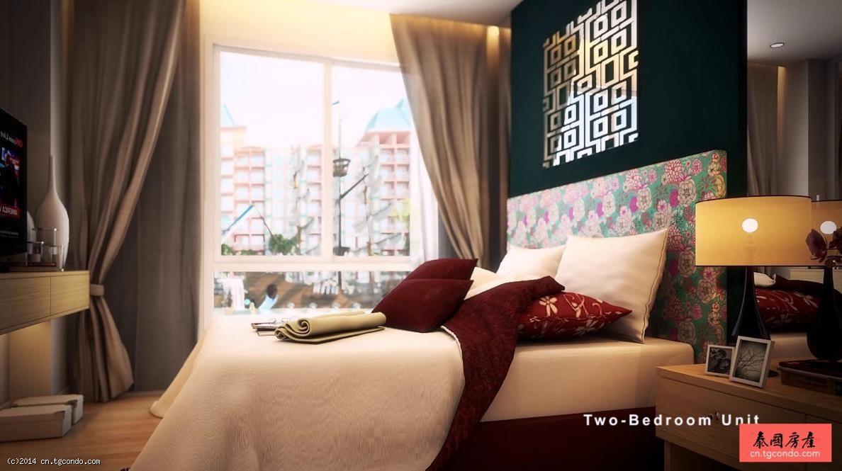 "Grande Caribbean Resort 芭提雅加勒比""水景""度假公寓"