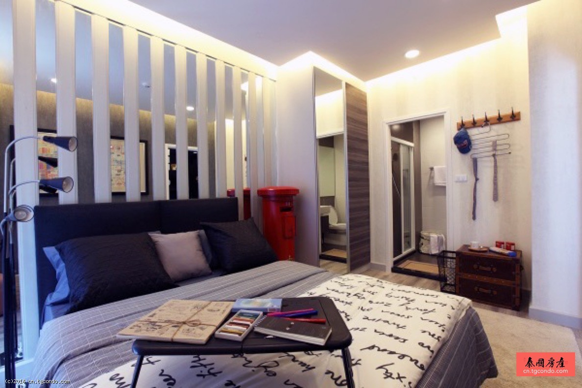 泰国曼谷辉煌公寓50平米2房Centric Huai Khwang