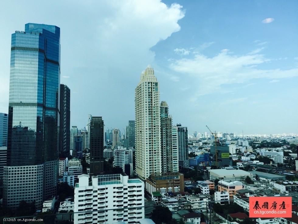 泰国曼谷沙吞 Centric Sathorn开发商3房样板房出售