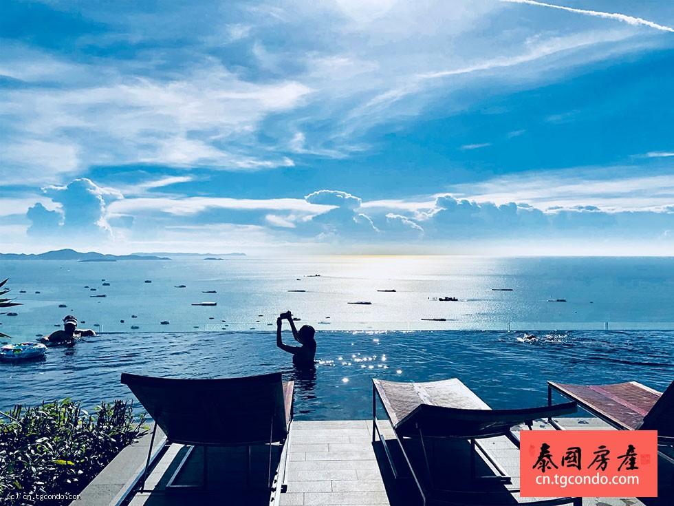 泰国芭提雅中心海公寓 Centric Sea Pattaya