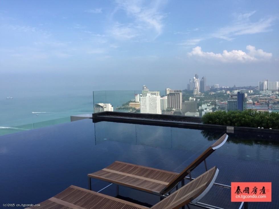 泰国芭提雅中心海公寓出租 Centric Sea