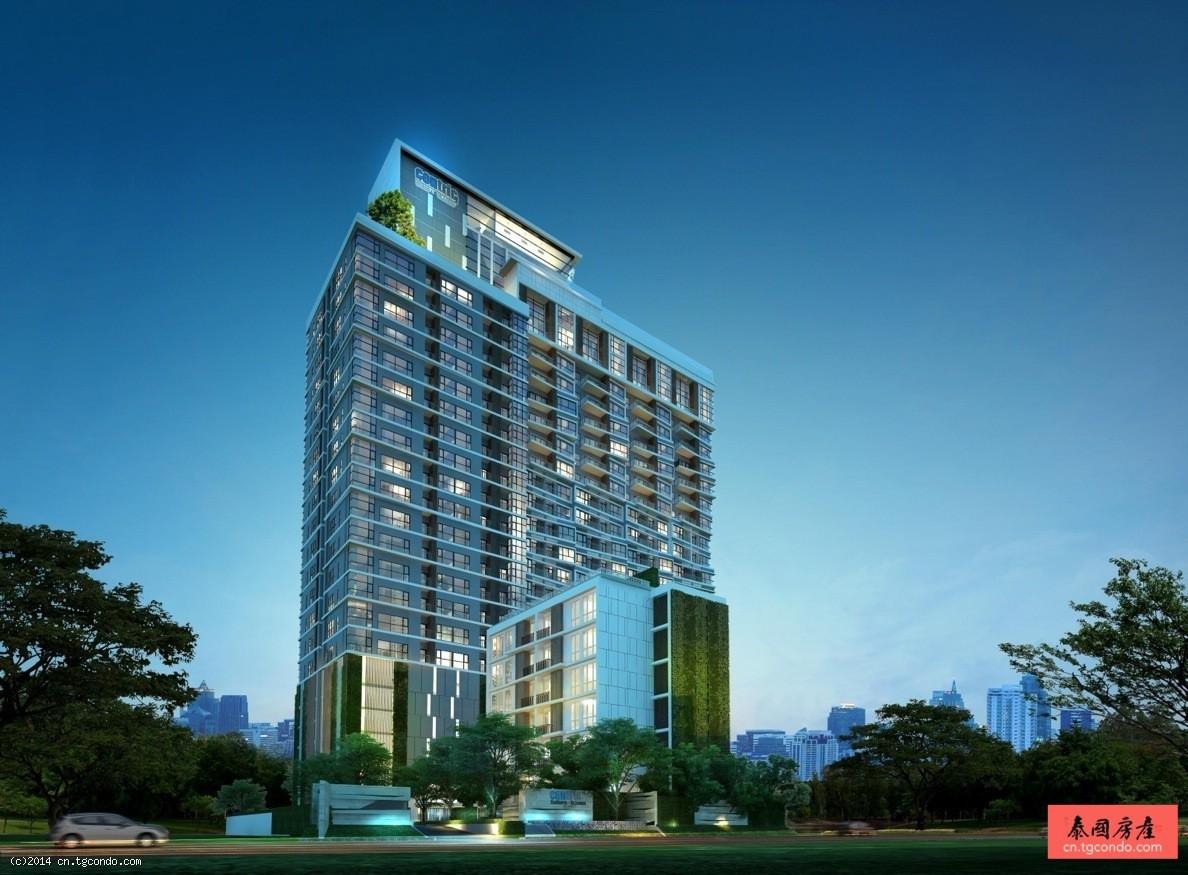 泰国曼谷沙吞BTS轻轨站商务公寓 Centric Sathorn