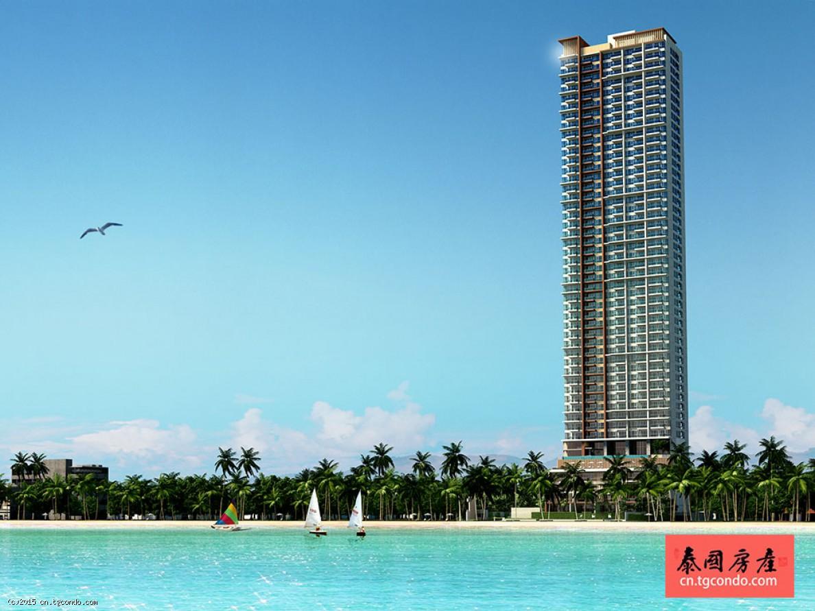 泰国芭提雅公寓鲸鱼座2房85平 Cetus Beachfront