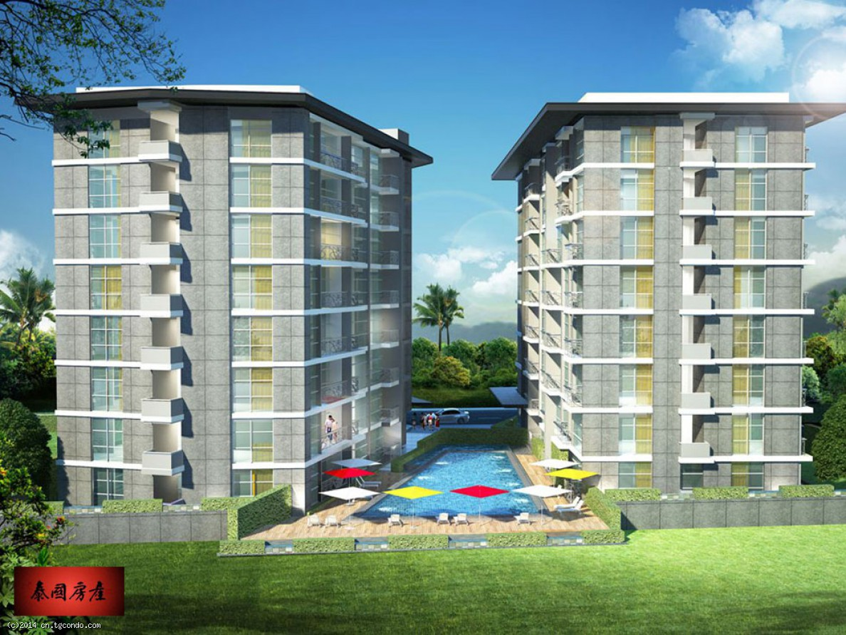 芭提雅城市花园-帕答纳山 City Garden Pratumnak