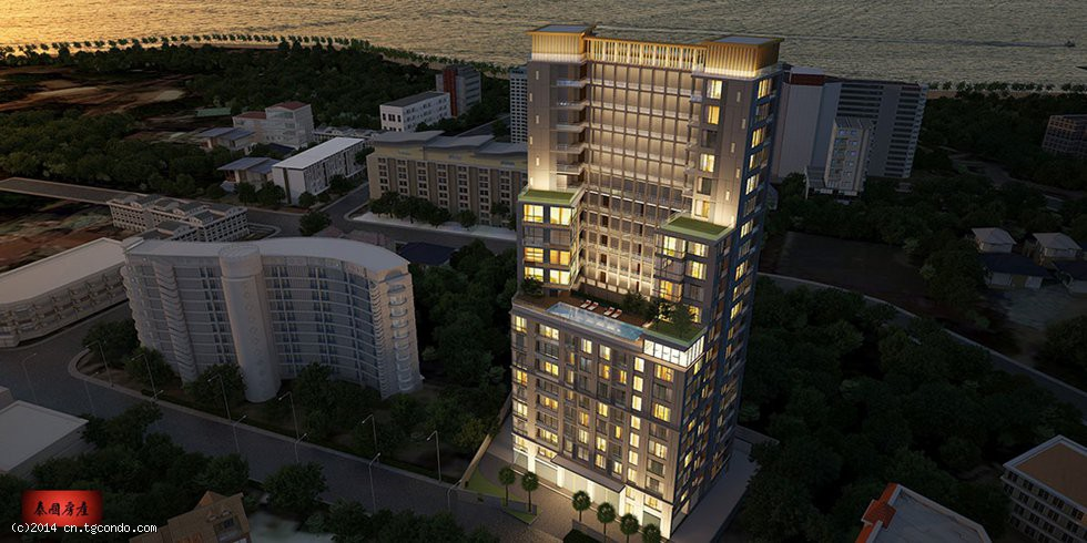 芭提雅云端35平1室高层海景公寓Cloud Condo Pattaya