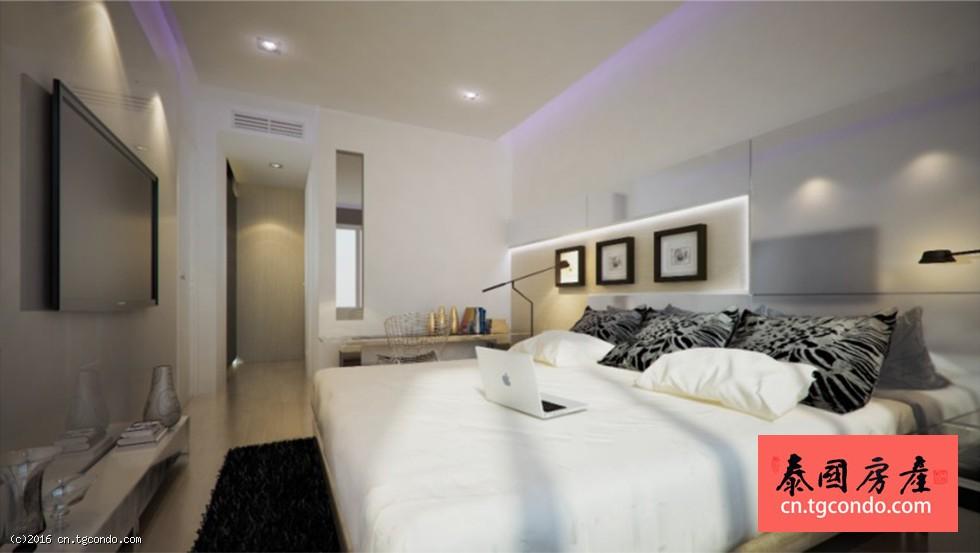 泰国曼谷是隆黄金地段Silom Condolette light公寓