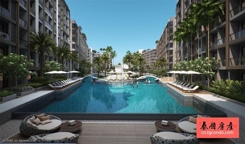 芭提雅中天海滩Dusit Grand Park度假公寓