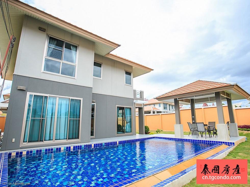 泰国芭提雅私人泳池大别墅Grand Regent