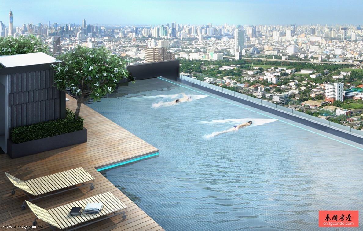 泰国曼谷房地产:BTS Phrom Phong现房豪华精装 H Condo
