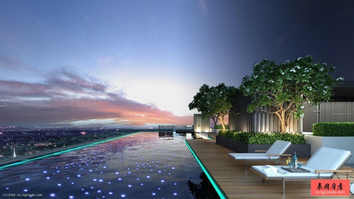 泰国曼谷BTS Phrom Phong素坤逸公寓出售H Condo