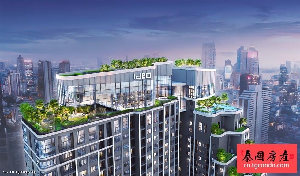 """IDEO Chula-Samyan 泰国曼谷""""垂直型花园""""高层期房"""