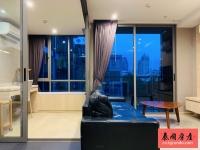 曼谷是隆金融区泳池景观高层一房 Klass Silom