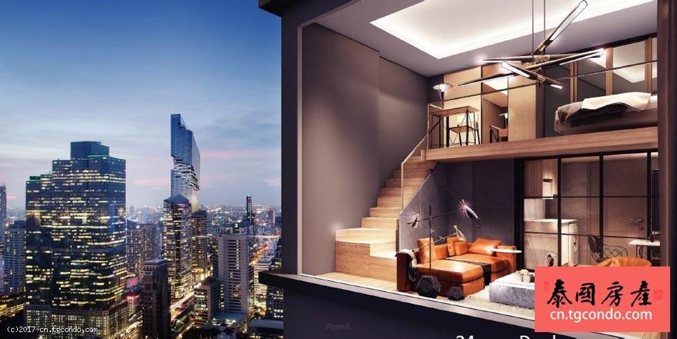 Knightsbridge Prime Sathorn 泰国曼谷沙吞复式楼盘