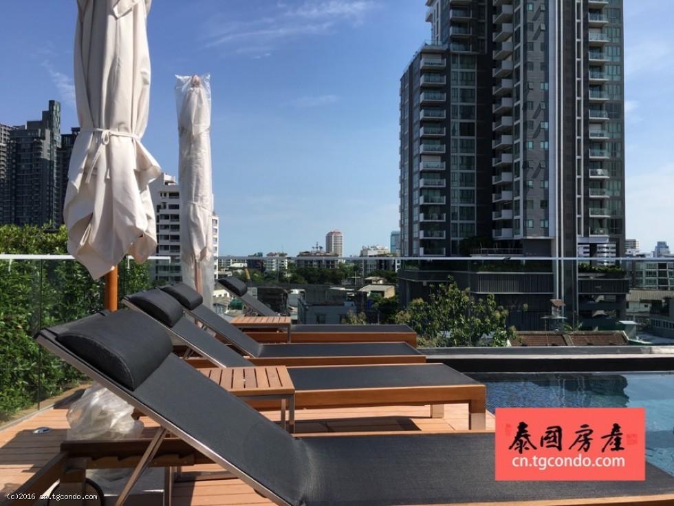 """曼谷精品楼盘: 大都会的""""田园风情"""" LIV@49"""