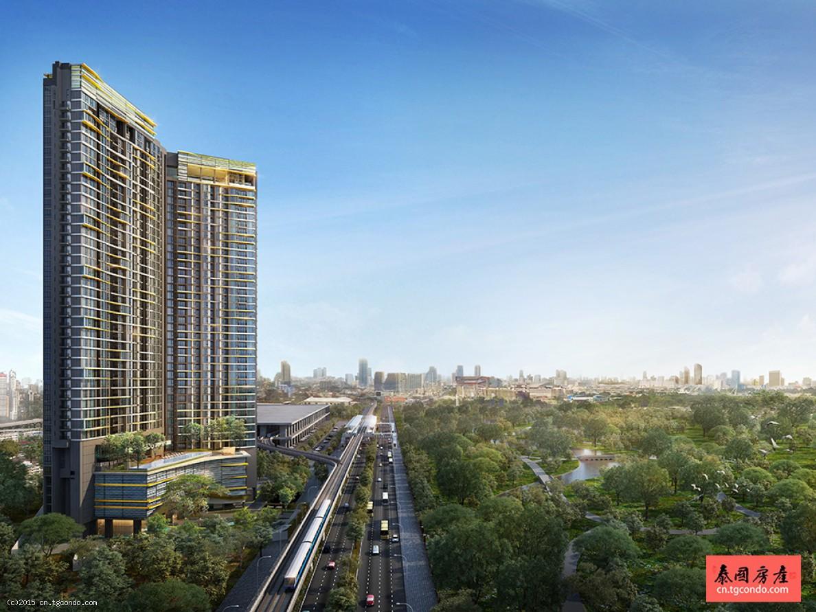 泰国曼谷最新投资楼盘摩七水线2房 Line Jatujak Mochit