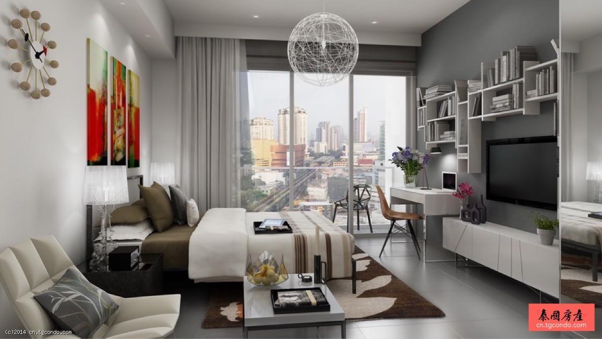 泰国曼谷阁楼风格公寓:The Lofts Ekkamai