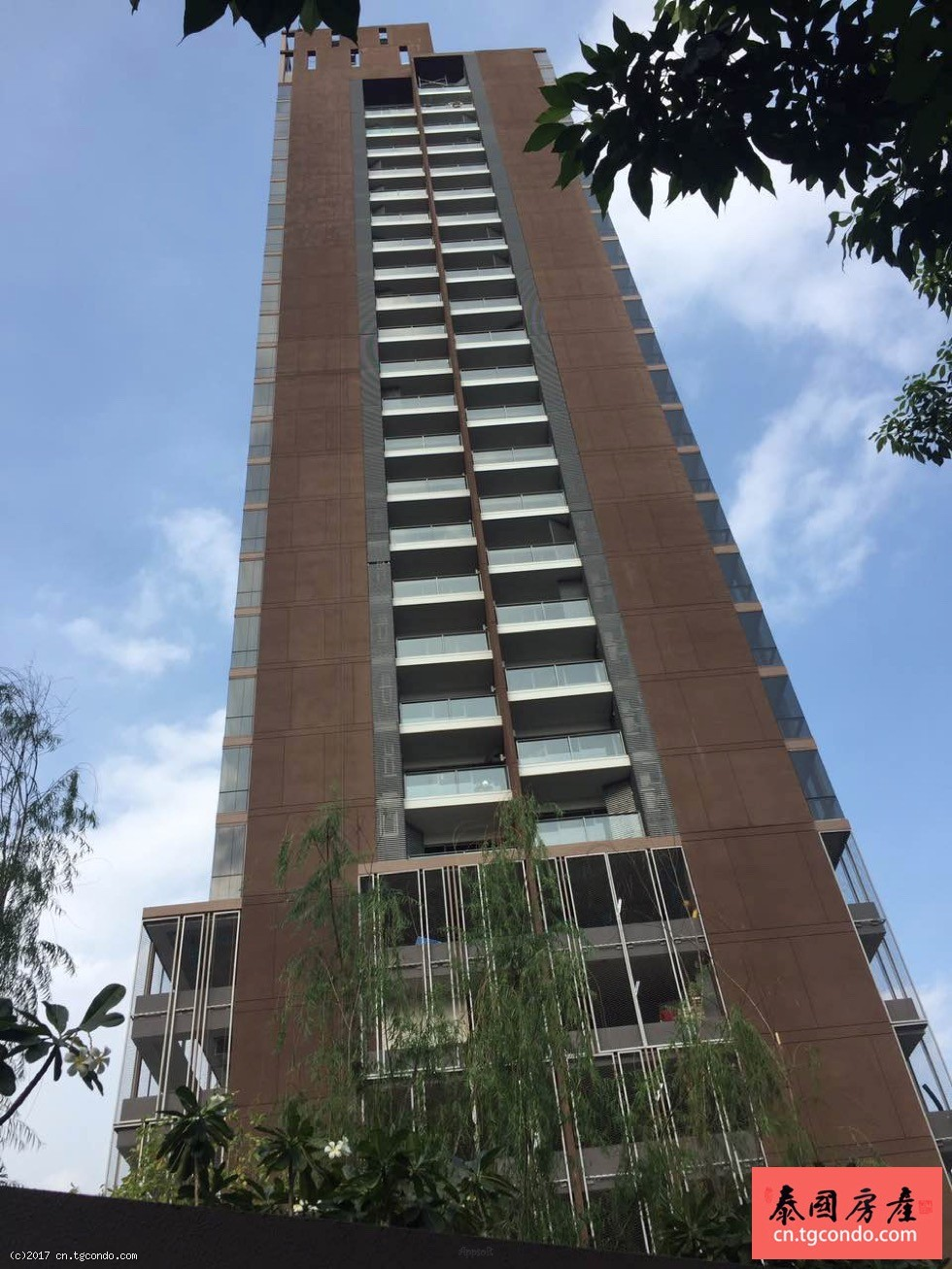"""曼谷日本人区""""工业风""""阁楼高层公寓The Lofts Ekkamai"""