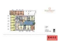 80米连接轻轨,曼谷公寓Maestro 07