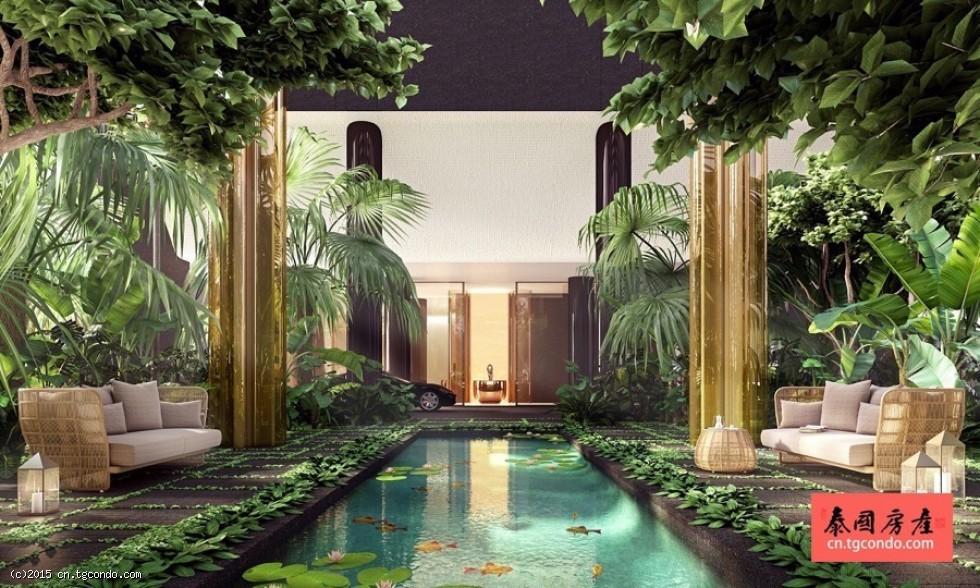 泰国曼谷豪宅: Nimit Langsuan