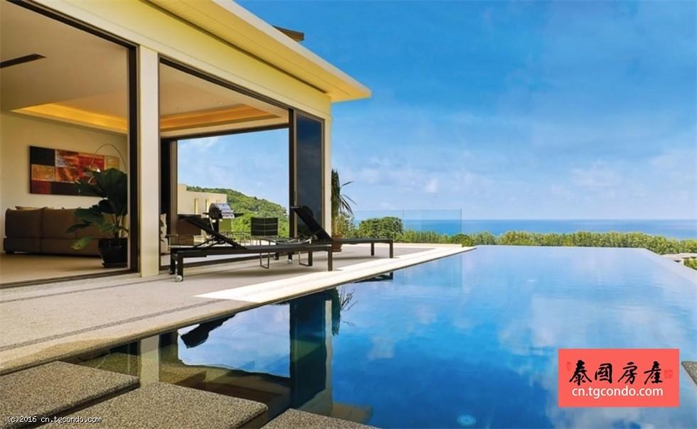 普吉岛环境优美的奈通海滩别墅