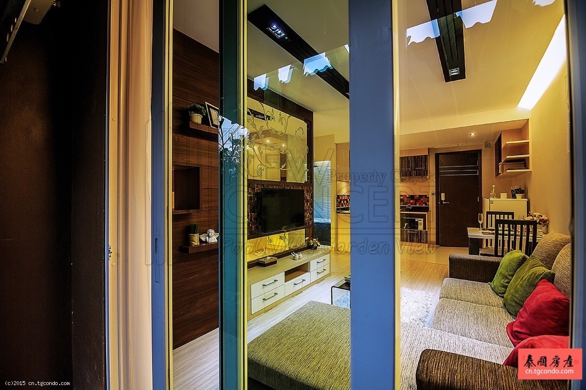 泰国清迈房地产:泳池度假公寓New Concept Pool Villa