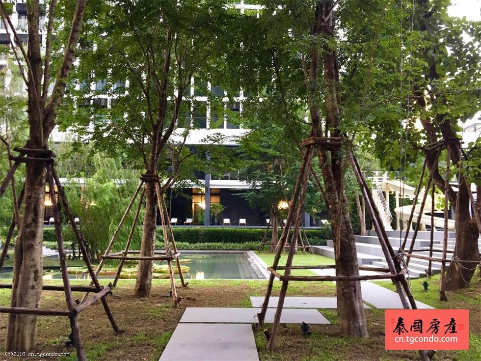 泰国曼谷奔集顶级地段现房:贵族·奔集 Noble Ploenchit两房