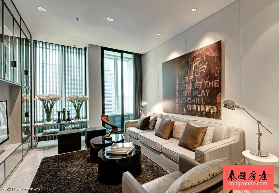 泰国曼谷最新豪华楼盘现房: Noble Ploenchit
